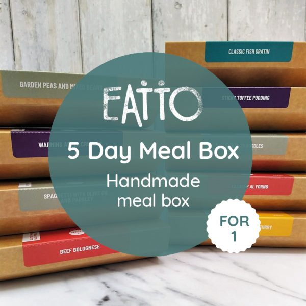 '5 Day Meal Box For 1' Handmade Meal Box